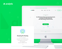Analytic - Marketing Intelligence company website
