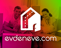 EvdenEve Moving Company Logo Design