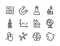 Icons • School subjects   Иконки • Школьные предметы
