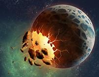 Asteroid Attack design concept
