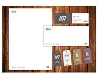 Atia Wood Design Branding