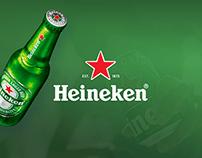Heineken – Bring home the summer UX/UI