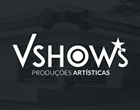 Site Vshows Produções Artísticas