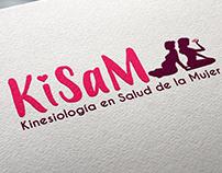 Logo Kisam: Kinesiología en Salud de la Mujer