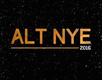 ALT-NYE - Event promotional design