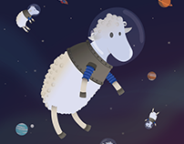 Space sheeps
