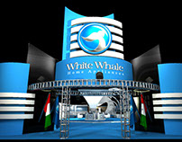 White Whale Booth Design