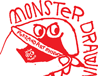 Portland Art Museum - Monster Drawing Rally
