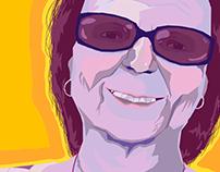 Portrait of Grandma: In Colorful Memory