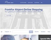 Frankfur Airport: Responsive Magento 2 Concept Design