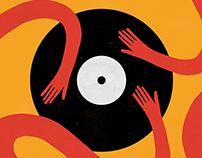 Vinyls | Poster for Shopiq.