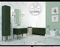 Oasis Luxury Bathroom Furniture Daphne Bathroom 3DModel