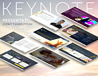 Keynote Presentation: Pitch for Event Theme