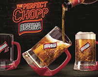 Brahma and the Perfect Chopp. Product Design/POP/Direct
