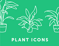 Plant Icons / Personal Project