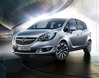 Brussels Motorshow - Opel Meriva - Full CGI