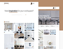 Workspace | Free E-commerce PSD Kit