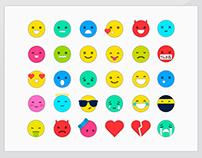 Emoticons Social Network Profebook