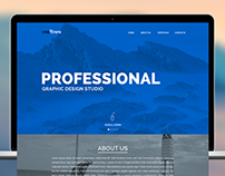 Creative Agency Template redesign