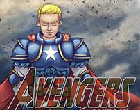 Portada de Avengers Fanbook