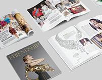 《FRIENDSHIP》Magazine layout design