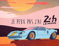 Je peux pas j'ai 24h Le Mans