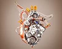 Mechanical Heart for Volkswagen