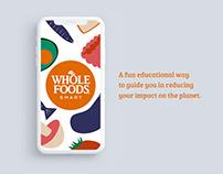 Whole Foods Smart — App Concept