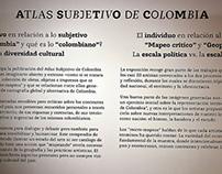 Atlas Subjetivo de Colombia