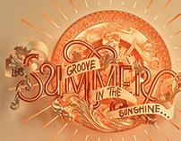 Summer Calendar Art