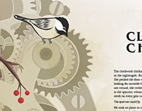 Short Story Illustration - Clockwork Chickadee