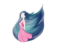 Fire Hair | GIF