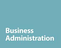 UW-Eau Claire College of Business Program Flyers