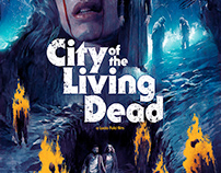 City of the Living Dead Screenprint | Outpost 512