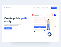 EazyPolls | Saas Homepage