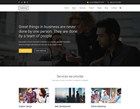 PURPOSE - Creative Business PSD Template