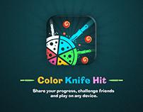 Design ⚔️Color Knife Hit ⚔️ Unity Game🏴