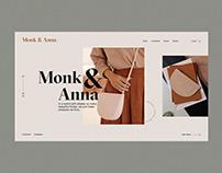 Monk&Anna Redesign