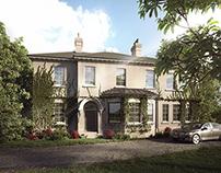villa in England.