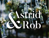 Astrid & Rob | Logo