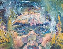 """""""Anchor"""", oil on canvas"""