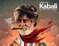 kabali & vedhalam | rajini | thala ajith Caricature
