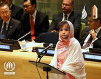 UNHCR Reimagine Zahra's World
