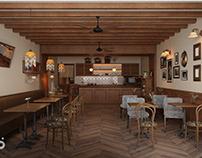 哈喽设计| 广州普罗咖啡餐饮空间设计