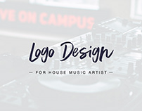 Logo Design for House Music Artist