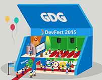 GDG DevFest 2015 Flex Design