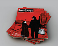Cover Design for Business News magazine