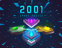 2001 - Space Puzzle - Game Design Concept