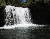 Cascadas del Molinuco en el río Pita.
