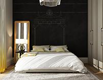 Contemporary bedroom design